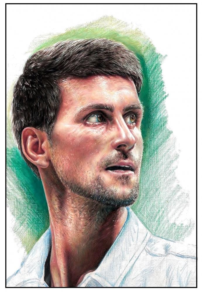 Novak Djokovic por Cymbidium